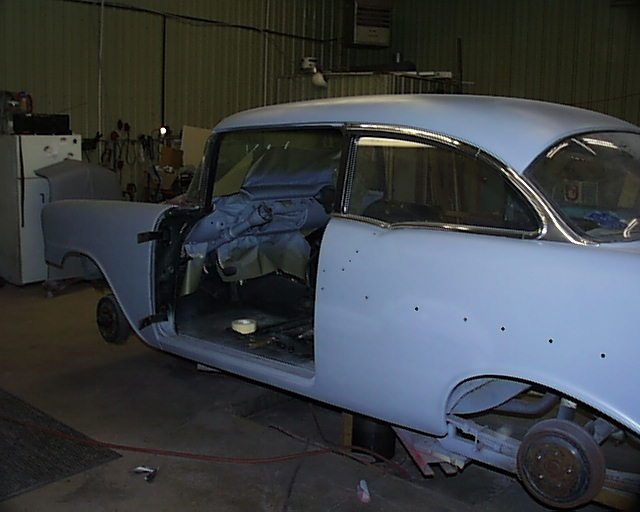 Primed 56 Chevy