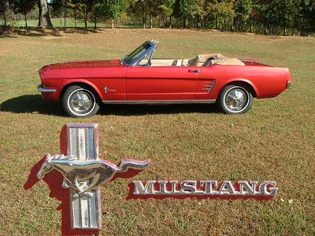 Dad style 56 Mustang Picture
