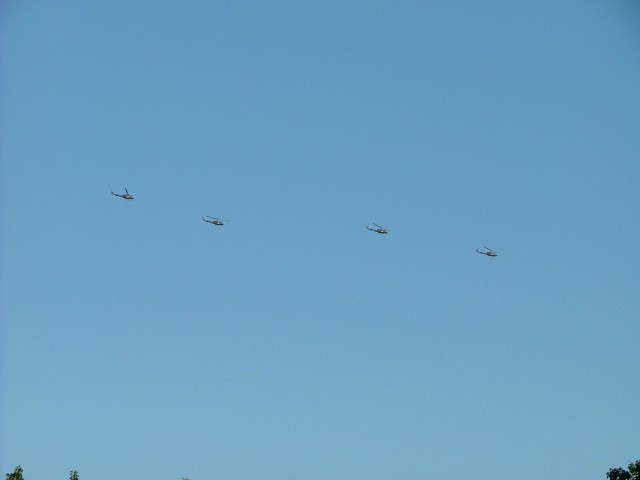 Helicopters headed to New Orleans